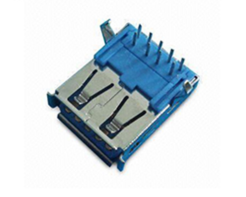 USB 3.0 Type A Connector Female Receptacles Manufacturer