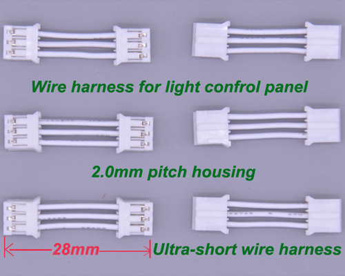 Ultra Short Wire Harness 3P 2.0 mm Pitch 28mm length