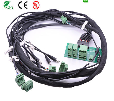 [DIAGRAM_0HG]  Custom Complex Wire Harness and Wiring Looms | Custom Harness Wiring Looms |  | Circular connector