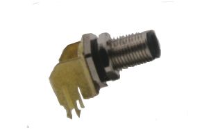 Fixed srcew type m5 Elbow 90 degree PCB connector