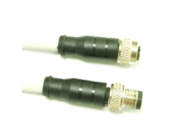 M8 B-Coded cable M TO F 4pin 5Pin 6Pin 8 core